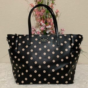 Kate spade Wellesley Adaira tote/baby bag beige